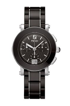 Image of FENDI Women's Ceramic Stainless Steel Bracelet Watch