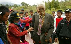 Walking Dead of Tana Toraja - after cleaning the zombie is dressed in fresh clothes