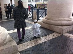The Young Pope (photographie : Lucia Pagano Lux)