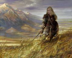 Warrior Woman - Eowyn, Defender of Rohan by Donato Giancola. Description from pinterest.com. I searched for this on bing.com/images