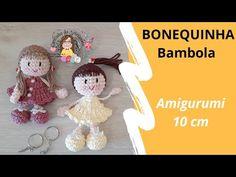 Crochet Teddy Bear Pattern, Crochet Doll Pattern, Crochet Patterns Amigurumi, Amigurumi Doll, Crochet Dolls, Doll Patterns Free, Crochet Videos, Cute Crochet, Small Gifts