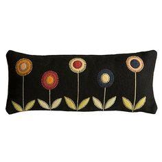 felt & embroidery pillow - very cute!