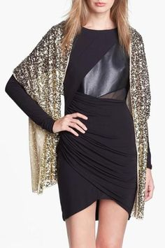 Finishing Touch = Sequin Wrap