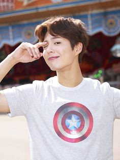 answer to my prayers. — park bogum for edwin ✧ marvel collaboration900 x...