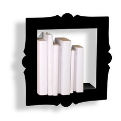 pink martini - Presse Citron: Libreria nera in metallo