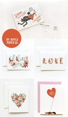 Valentine Cards by Rifle Paper Co.
