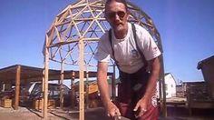 Domo Geodesico Madera Tutorial, via YouTube.