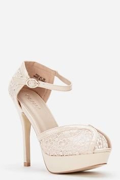 Womens Ladies Beige High Heel Peep Toe Ankle Strap Sandals Shoes Size UK 4,8 New  Click On Link To Visit My Ebay Shop http://stores.ebay.co.uk/all-about-feet  Useful Info:  - Standard Size - Standard Fit - By Feida - Beige In Colour - Heel Height: 5 Inches - Platform: 1 Inch  - Buckle Side Fastening - Floral Crochet Detail - Mesh  #shoes #sandals #beigeshoes #beige #anklestraps #platform #highheel #highheels #fashion #footwear #forsale #womens #ladies #ebay #ebayseller #ebayshop #ebaystore…