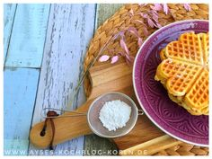Das ultimative Waffelrezept l Knusprigste Waffelrezept mit Milchmaedchen - low carb Rezepte Waffel Vegan, Paleo Soup, Jamie Oliver, Snacks, Waffles, Coke, Breakfast, Recipes, Finger Food