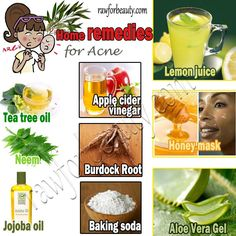 Getting rid of acne naturally