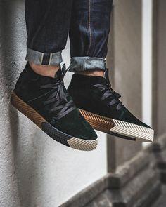 online store 2a038 3dfcd cheap Adidas ALEXANDER WANG AW Bball Black replica shoes