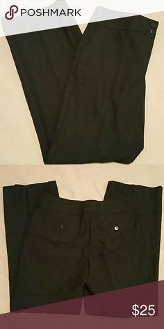 "EUC Talbot's black dress pants ""stretch"" size 8P Like new.  Poly/viscose/spandex blend.   Machine washable. 29"" inseam. Talbots Pants"