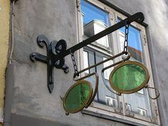 Opticians sign, via Flickr.