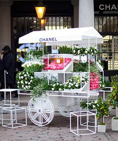 Chanel Opens the World's Most Beautiful Flower Stall – For Three Days, Only