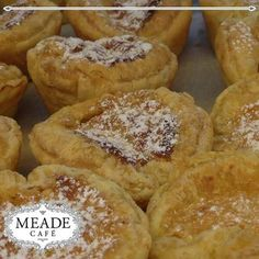 Our bakery at Meade Cafe bakes the most delicious delicacies, whether it's sweet you are after or savoury, we have exactly what you are looking for. #meadecafe #bakery