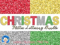 Christmas Glitter, Christmas Crafts, Glitter Letters, Purple Glitter, Letters And Numbers, Decorating Your Home, Etsy Store, Banner