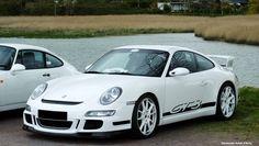 Porche GT3 blanche