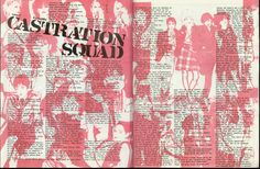 all-female death/punk-rock group Castration Squad