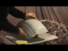 How to Fiberglass - Molds and Parts - Questions are welcomed. Diy Crafts Hacks, Crafts To Make, How To Fiberglass, Fiberglass Resin, Car Facts, Collision Repair, Auto Body Repair, Car Restoration, Automotive Furniture