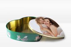 Keksdose in Herzform vür süße Mamas von #fotoCharly! Dog Bowls, Cookie Box, Decorating, Decorations