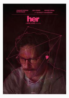 Movie Poster Movement — Her by studioroeu