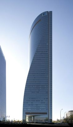 Torre Espacio, Madrid, Spain | Pei Cobb Freed & Partners Architects LLP