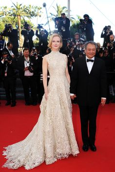 Nicole Kidman in Valentino Spring 2013 Couture during Cannes Film Festival at Grand Théâtre Lumière in Cannes, France, May 23rd 2013