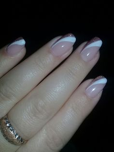 Ohne Titel - Nail thinks - - french tip nails - Elegant Nail Designs, French Nail Designs, Elegant Nails, Cute Nail Designs, Stylish Nails, Acrylic Nail Designs, Acrylic Nails, French Manicure Nails, French Tip Nails