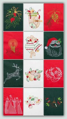 Thousands of Creative Machine Embroidery Designs for sale and for free. Machine Embroidery Projects, Machine Embroidery Applique, Hand Embroidery, Christmas Cards To Make, Christmas Time, Send A Card, Ideias Diy, Christmas Embroidery, Machine Design