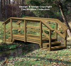 All Yard & Garden Projects - Landscape Timber Bridge Woodworking Plan Woodworking Workshop, Woodworking Furniture, Woodworking Jigs, Woodworking Projects, Woodworking Quotes, Wood Projects, Garden Projects, Youtube Woodworking, Woodworking Magazine
