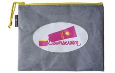 Hayden Reis sunscreen bag - sunscreen is your friend!