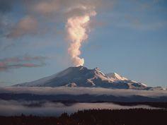 Mount Ruapehu Tongariro National Park, New Zealand.  I am going to get the Ring!