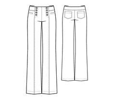 Bootstrapfashion - sailor jeans