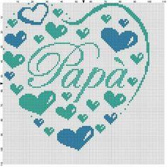 Cross Stitch Numbers, Cross Stitch Heart, Melty Bead Patterns, Beading Patterns, Cross Stitch Alphabet Patterns, Graph Paper Art, Christmas Hearts, Crochet Chart, Plastic Canvas Patterns