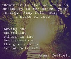 James Redfield Quote