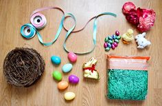 All you need for the perfect Easter basket!