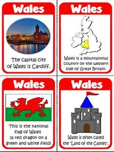 Wales - Flashcards
