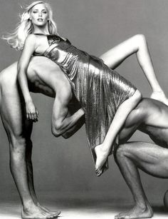 Nadja Auermann photographed by Richard Avedon. #Versace repinned by www.twotwofourfour.com