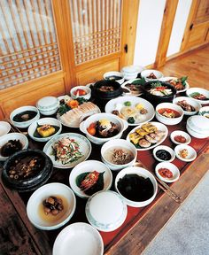Korean Table d'hote (hanjeongsik)