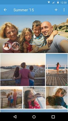 Bundle (Android/iOS) permiter agrupar, organizar y crear colecciones de fotos para compartir