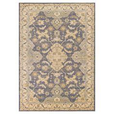 """Blue Abstract Loomed Accent Rug - (3'3"""" x 4'11"""") - Kas Rugs"""