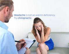 #Headache is not an aspirin deficiency. Try #chiropractic.   #Vancouver