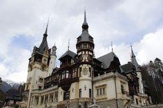 Peles Castle from Sinaia, Prahova region