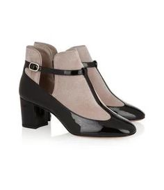 """""""Patent-leather and velvet T-bar pumps"""" https://sumally.com/p/1064771"""