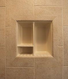 Nice Bad Fliesen Duschen Dusche Nische Badezimmer Fliesen designs Badezimmer Ideen Badezimmer Bad Regale Zuhause Shower Seat Bathroom Niche