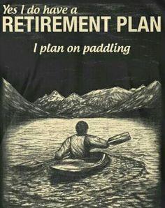That's my plan...