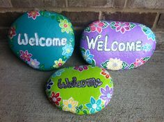 Welcome painted rocks...Pretty rocks by Christy Anderson