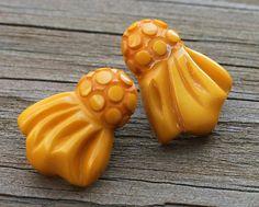 Deco Bakelite Earrings by slapmefabulous on Etsy, $55.00