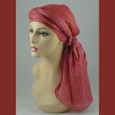 Rose Chemo Hat Alopecia Head Wrap Head Scarf Turban
