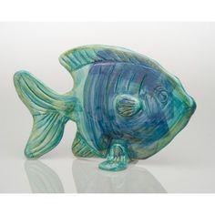 Pesce Standing Fish Sculpture
